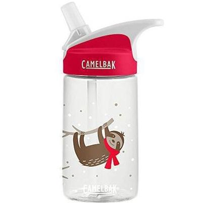 camelbak eddy kids cozy sloths water bottle clear 40ml