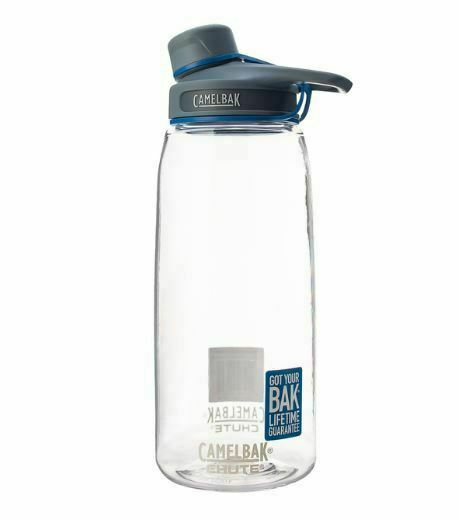 CAMELBAK WATER BOTTLE CHUTE 1L CLEAR